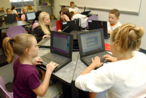 Students programming
