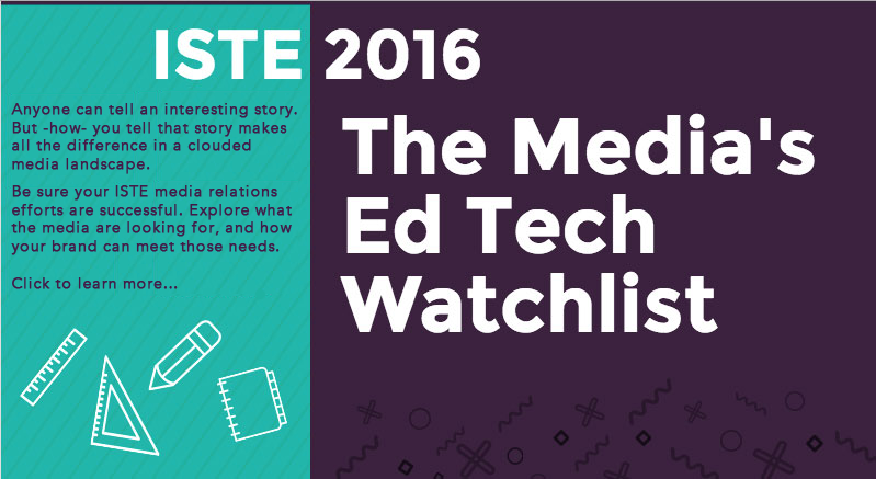 ISTE 2016 Media Ed Tech Watchlist