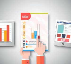 The power of infographics in an education marketing campaign.