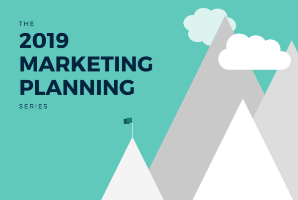 The 2019 Marketing Planning Series.