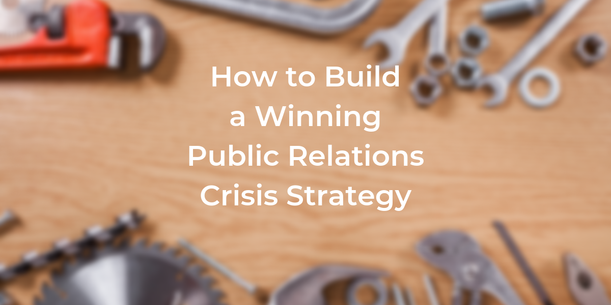 public relations crisis strategy