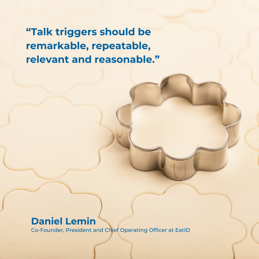 Seven Marketing Tips + Talk Triggers + Daniel Lemin