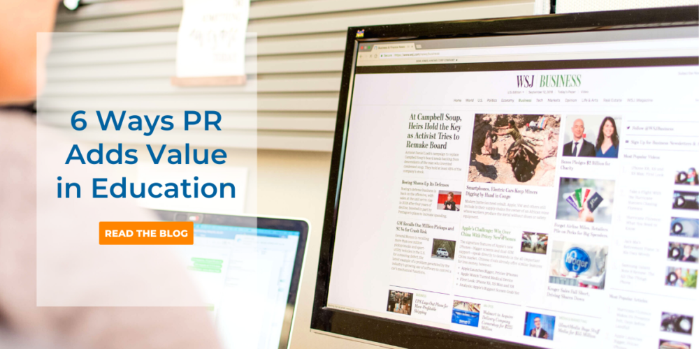 6 Ways PR Improves Your Bottom Line by CB&A for Education
