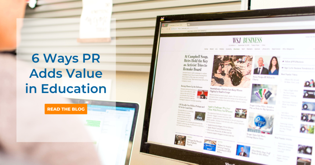 6 Ways Education PR Improves Your Bottom Line by CB&A