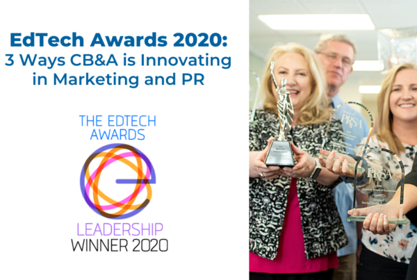 CB&A recognized as best public relations firm working in edtech
