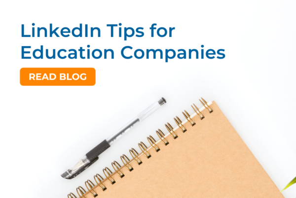 LinkedIn tips for education companies