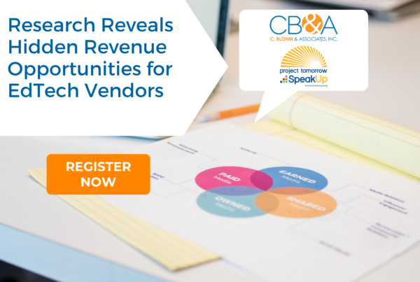 Research reveals hidden revenue opportunities for edtech vendors